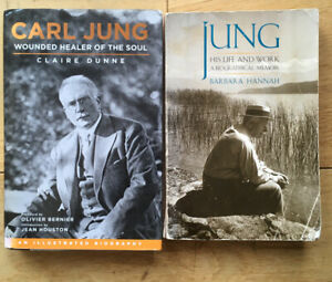 Carl Jung Collection of Books, from a personal library