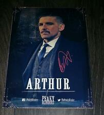 "PEAKY BLINDERS PP SIGNED 12X8"" A4 PHOTO POSTER PAUL ANDERSON ARTHUR SHELBY N3"