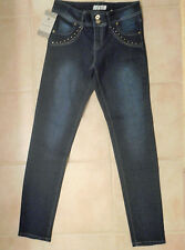 New Anita Jeans Sz J3 Bling Woman Pants Navy Blue