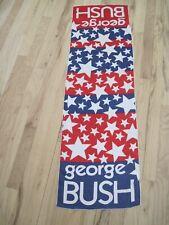 Vintage George H.W. Bush 1966 Congressional Campaign President Scarf