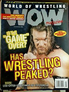 World of Wrestling WOW Magazine May 2001 Triple H HHH Chyna Lita Undertaker