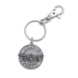 Guns N' Roses Disc Logo Keyring