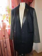 Elegante  Blazer Jacke von Laura Scott  gefüttert blau/grau Gr 42 NP 161,99€