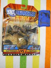 T3_5 DC Universe Classics Lot FIGHTING FIGURES FLICK FLIGHT CATWOMAN VS BATMAN