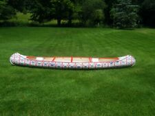 used canoes for sale - 1972 17ft Budweiser Abs Plastic - Excellent Graphics