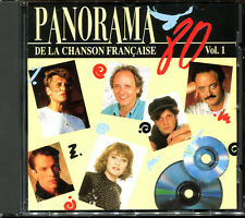PANORAMA DE LA CHANSON FRANCAISE - ANNEES 80 - VOLUME 1 - CD COMPILATION [1331]