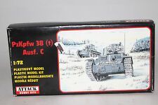 ATTACK HOBBY KITS PzKpfw38 Ausf.C MILITARY, 1:72 SCALE, SEALED