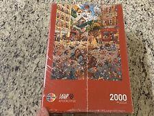 Heye Puzzles Triangular 2000 Pc Apocalypse Loup Jigsaw 29577 New Sealed!
