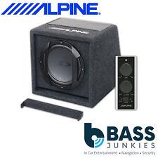 "Alpine SWE-815 8"" 20cm 300 Watts Amplified Active Car Sub Subwoofer Bass Box"