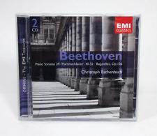 Beethoven: Piano Sonatas, Bagatelles, Op. 126 by Christoph Eschenbach (CD, 2003)