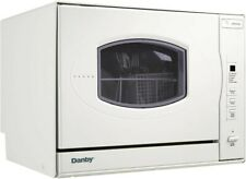 Danby 6 Place Setting Countertop Dishwasher - Stainless Steel(Ddw631Sdb)