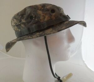 SEKRI Water Repellent Bucket Hat Size 7 Military Green Universal Camouflage