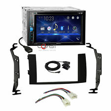 Pioneer DVD BT Camera Input Stereo Dash Kit Wire Harness for 04-09 Toyota Prius
