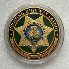 Wyoming Highway Patrol Challenge Coin