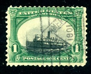"""EFO 294 """"SINKING SHIP"""" VARIETY PLUS 1901 SON PAN AMERICAN EXPO CANCEL!-UNIQUE?"""