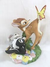Vtg 1984 Bambi Disney Magic Memories Figure 4132/15,000 Porcelain Figurine LE