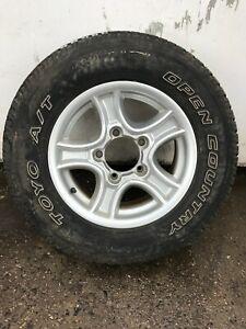 Suzuki Vitara JX 4U Soft-Top Mk1 (1988-99) Wheel with Tyre 205/75 R15