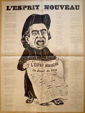 """Affiche. D'après Gill. L""""Esprit Nouveau. On dirait du veau. 1894"""