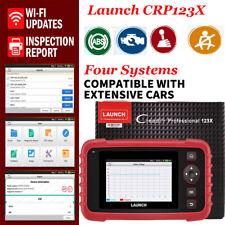LAUNCH X431 CRP123X OBD2 Car Scanner Automotive Diagnostic Tool 4 Systems Engine