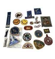 VINTAGE LOT OF 23 BOY SCOUT OF AMERICA PATCHES BADGES BSA 1970'S OTHERS