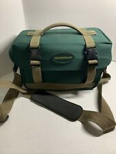 Canon And Quantaray Green And Beige Shoulder Strap Camera Case