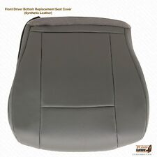 2009 2010 2011 Ford E150 E250 Van Driver Bottom Vinyl Perforated Seat Cover GRAY