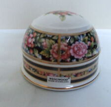 WEDGWOOD CHINA FLORAL PAPERWEIGHT 'CLIO' 3.25""