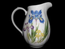 "1997-2005 Noritake Gourmet Garden Pattern (Iris) 8 1/8"" Pitcher 72oz Unused w2s7"
