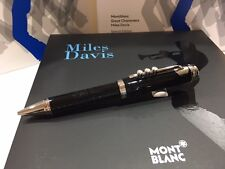 MONTBLANC MILES DAVIS SPECIAL EDITION BALLPOINT PEN #114346 - NEW IN BOX