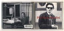 Cd PIER PAOLO PASOLINI Omonimo Same BMG 1995 Con voce originale