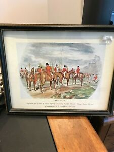 print the meet reproduced from j f herring jr by w f copland really nice