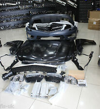 MERCEDES BENZ 12-14 W204 AMG C63 BODY KIT (NO HEADLIGHTS), FRONT/REAR BUMPERS