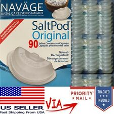 Navage Salt Pods 90CT (For Use in the Navage Nasal System) NEW & SEALED Saltpod