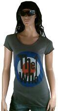 RARA Amplified UFFICIALE THE WHO BERSAGLIO logo rock star Vintage VIP T-shirt