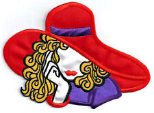 "Red Hat Society - Chic - Fashion - Model - Iron On Applique Patch- 5 7/8""W"