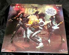 Kiss Alive! Sealed Vinyl Record LP USA 1975 Orig Casablanca NBLP 7020-798 Hype