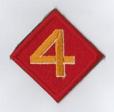 WWII - 4th USMC DIVISION (Original patch)
