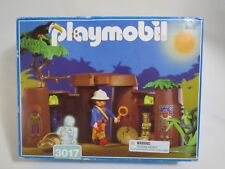 Playmobil 3017 Jungle Safari Treasure Cave with Explorer Skeleton - Retired 1998