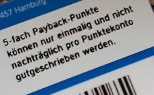 10x verschiedene Payback Papiercoupons Coupon 5fach Punkten bei Aral Tanken