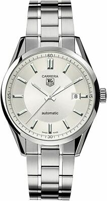 TAG Heuer Carrera WV211 Steel 39mm Mens Watch calibre 5 automatic 100% authentic