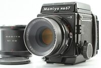 【N MINT】 Mamiya RB67 Pro S Sekor C 127mm f/3.8 Lens 120 Film Back From JAPAN 649