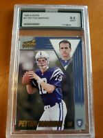 1998 Aurora #71 Peyton Manning MINT 9 ROOKIE Indianapolis Colts (not PSA)