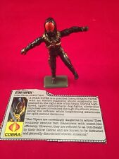 Hasbro GI Joe ARAH 1988 Series 7 Star-Viper Stiletto Pilot V1 Complete file card