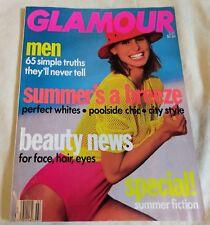 Glamour July 1990 Niki Taylor VTG Fashion Beauty Ads Retro '90s Magazine Vintage