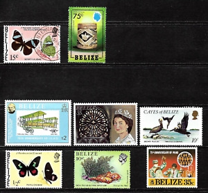 Belize  .. Collection of Postage Stamps .. 7250