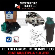 SUPPORTO FILTRO GASOLIO COMPLETO ORIGINALE FIAT MULTIPLA 1.9 JTD 120 CV / 88 KW