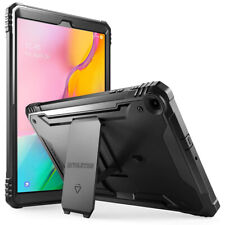 Poetic ® para Galaxy Tab 10.1 SM-T510/T515 Tablet Cubierta Resistente con Soporte Negro