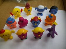 Arby's Toys 1971-1984 (Lot Of 12) Vintage Rubber  Toys  (B-113)