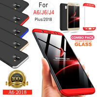 For Galaxy J3 J5 2017 Samsung Case Rugged Armor with Screen Protector Slim Cover