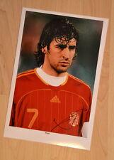ORIGINAL Autogramm Raul. pers. gesammelt. 100% Echt. ( I-P )
